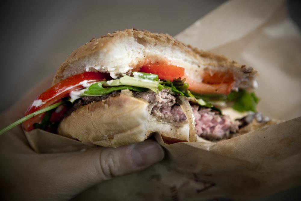 Hamburger morso