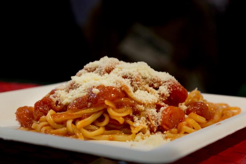 spaghetti e bon ton