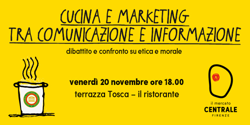 Cucina e Marketing tra comunicazione e informazione.