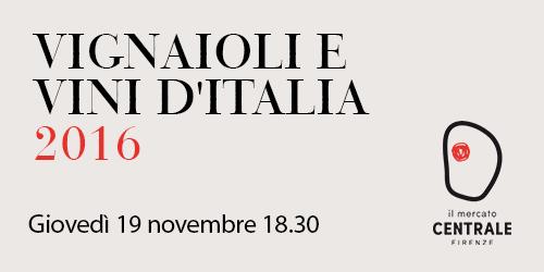 Presentazione guida Vignaioli e vini d'Italia 2016