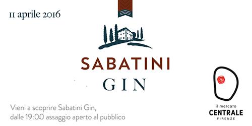 Sabatini Gin.