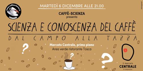 Scienza e conoscenza del caffè.