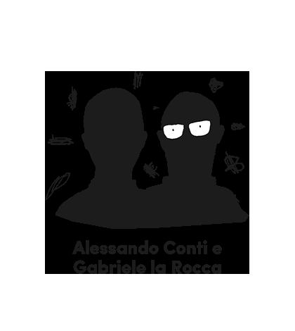 Alessandro Conti e Gabriele la Rocca