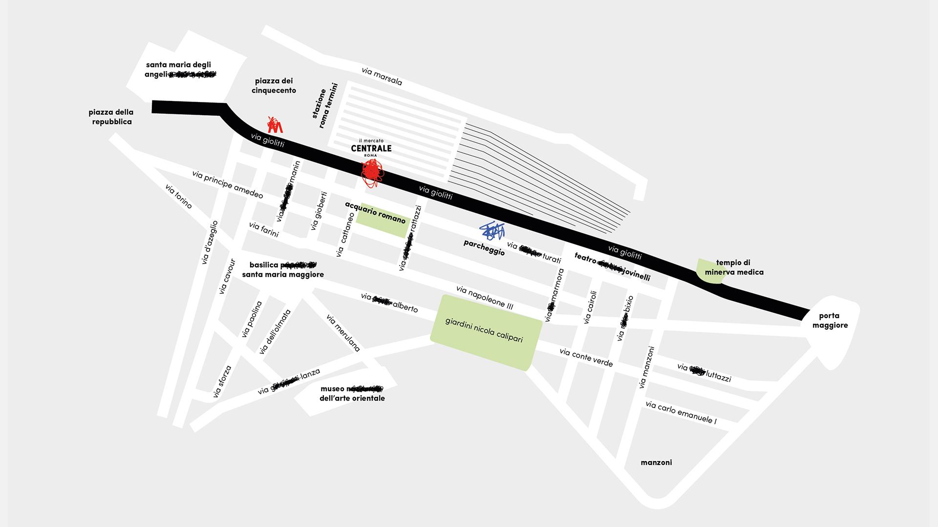 Mercato Centrale Roma - via Giolitti, 36