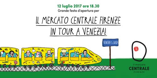 Il Mercato Centrale Firenze in tour a Venezia.