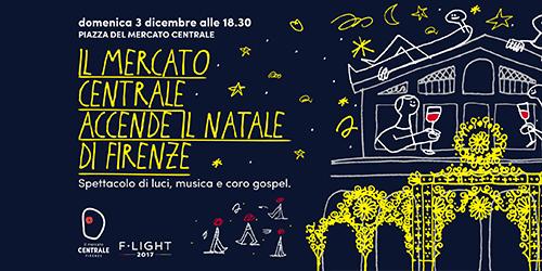 Il Mercato Centrale accende il Natale di Firenze!