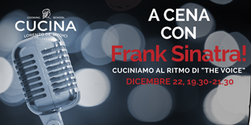 A cena con Frank Sinatra!