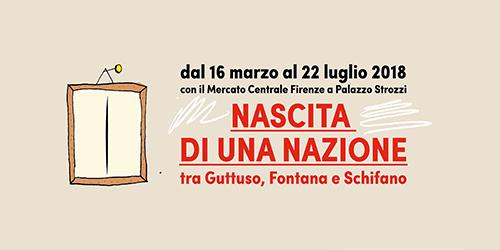 Nascita di una Nazione tra Guttuso, Fontana e Schifano.