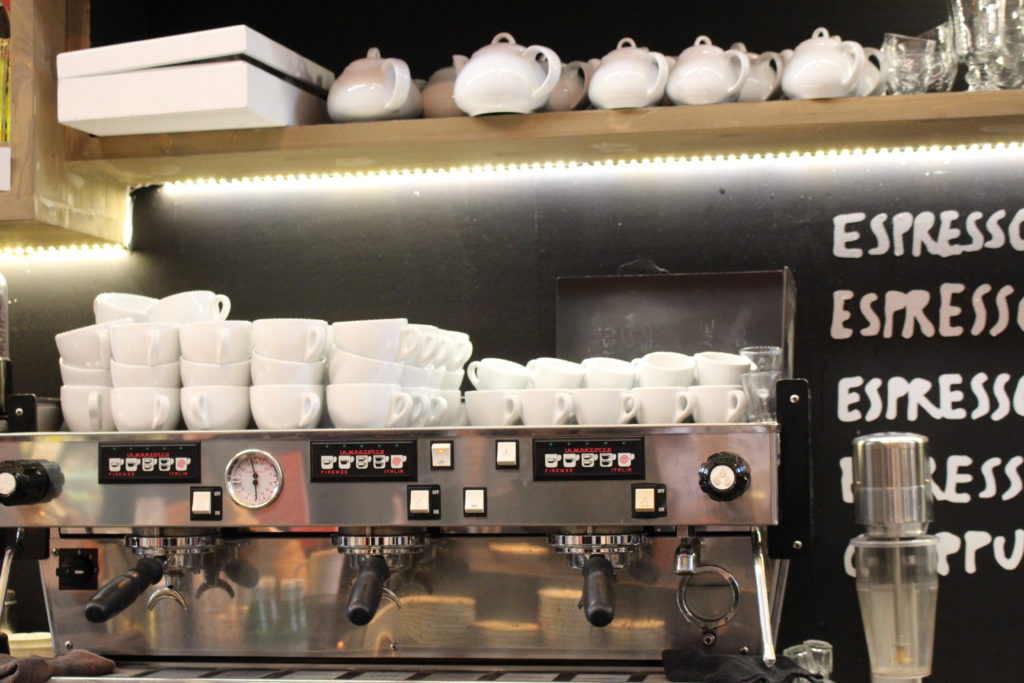 Il bar e la caffetteria