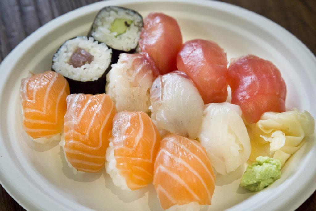 Il sushi di Toshi al Mercato Centrale Firenze