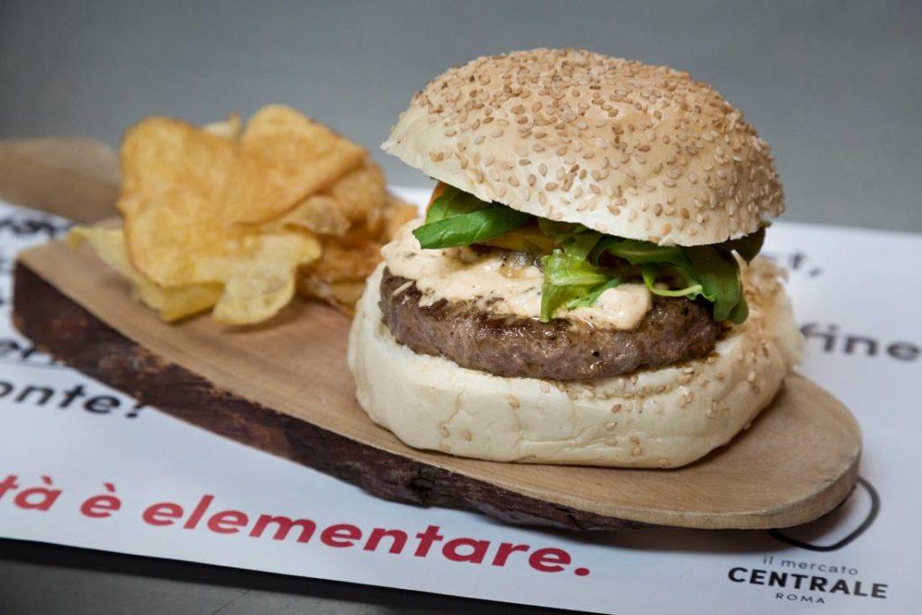 Il Mercato Cenytrale a sostegno della Fondazione Telethon | I Magnifici - hamburger