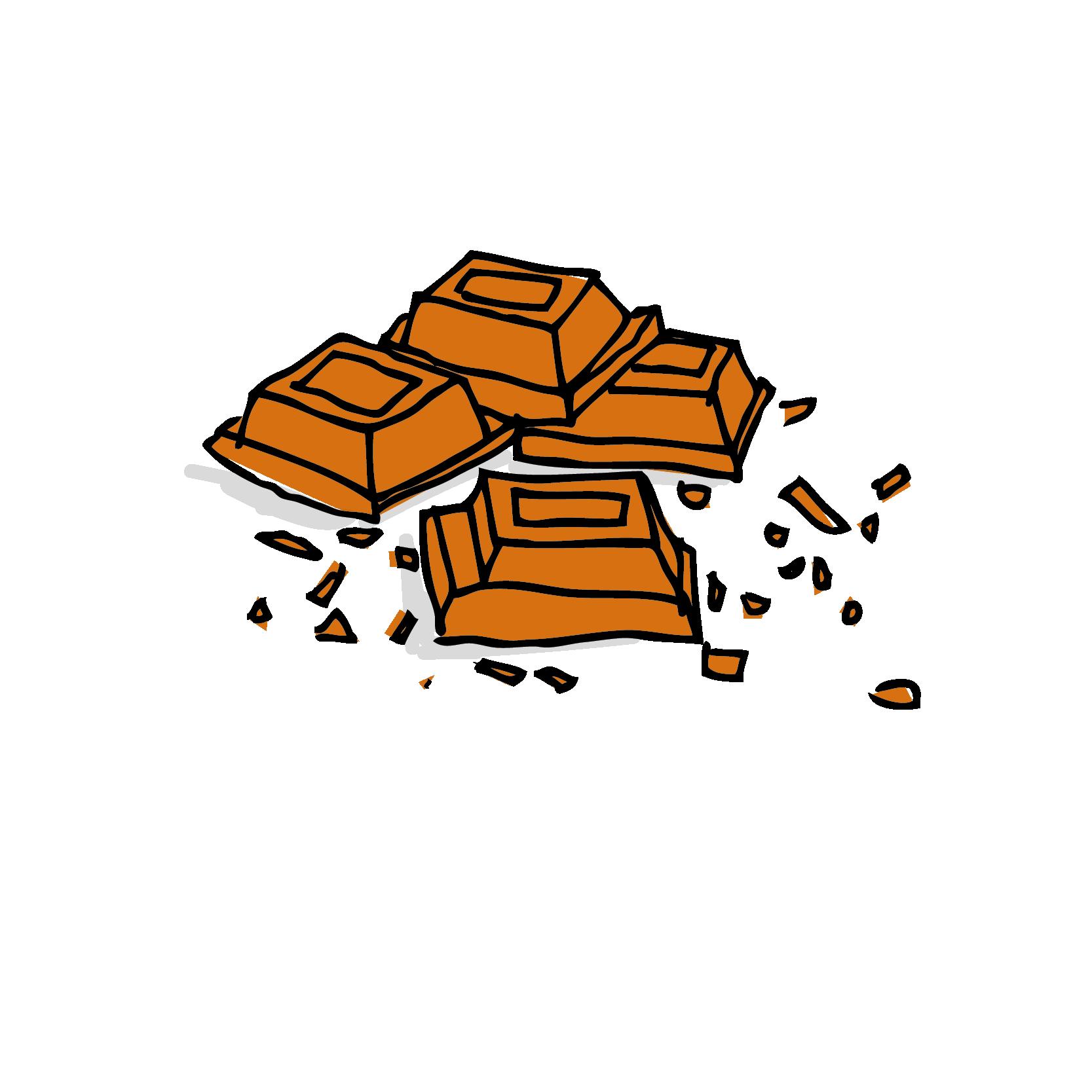 Il cioccolato e il gelato