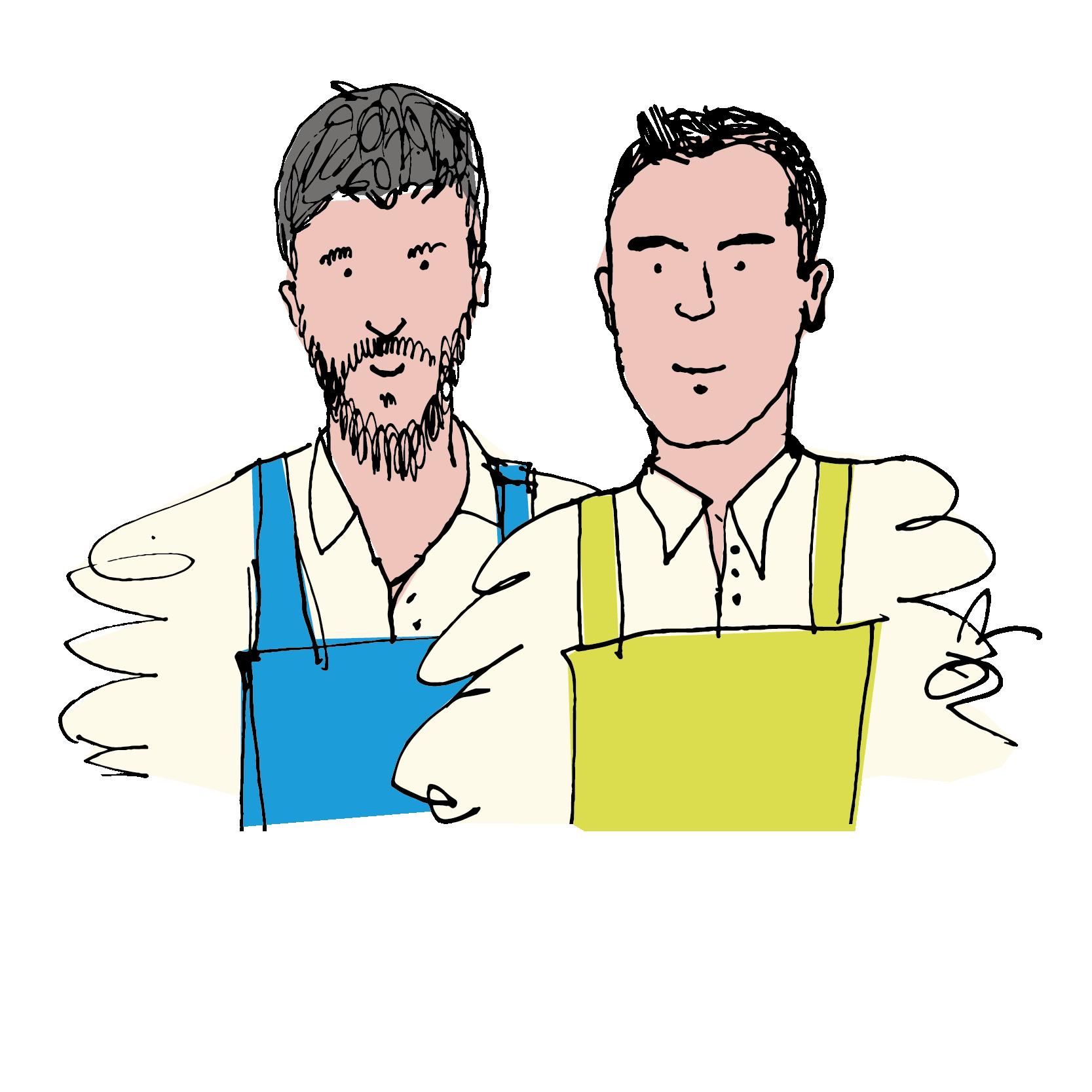 Guido Pallini e Carlo Bolli