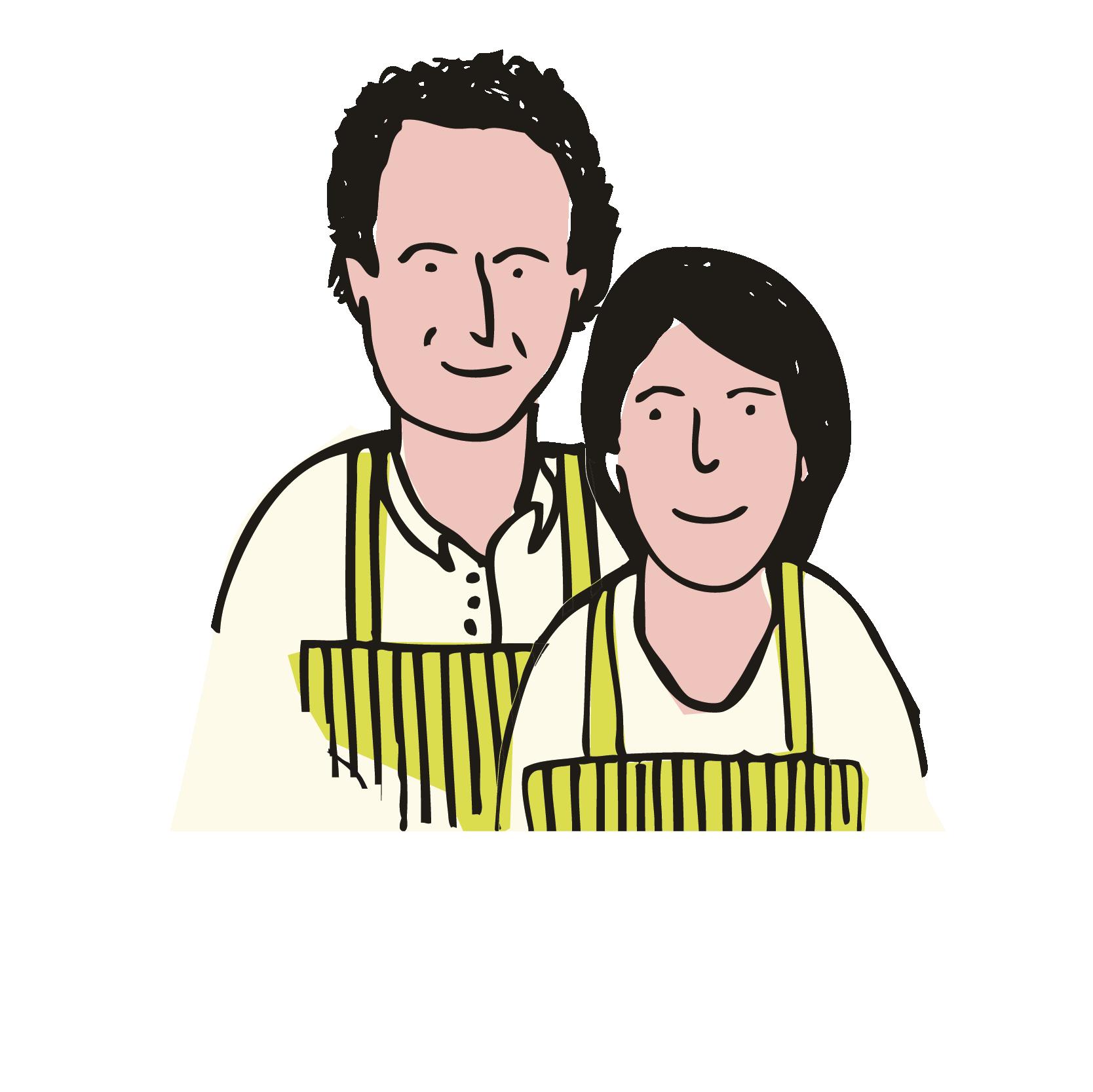Maurizio e Paola Rosellini