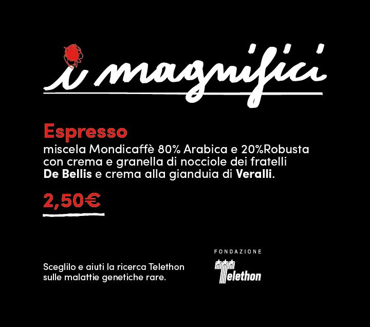 I Magnifici - La caffetteria