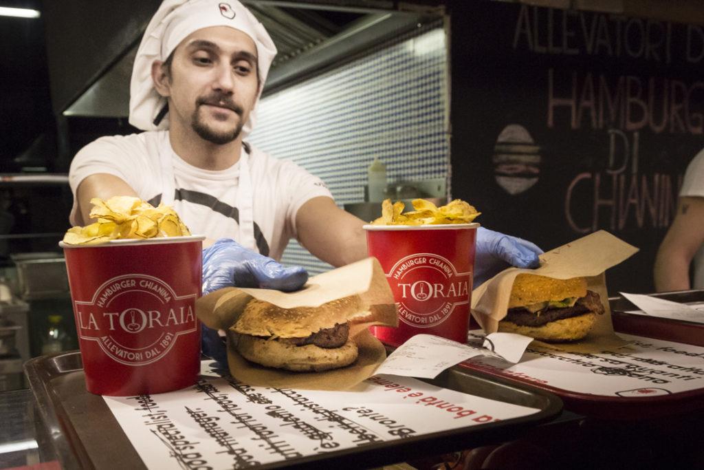 L'hamburger di Chianina di Enrico Lagorio