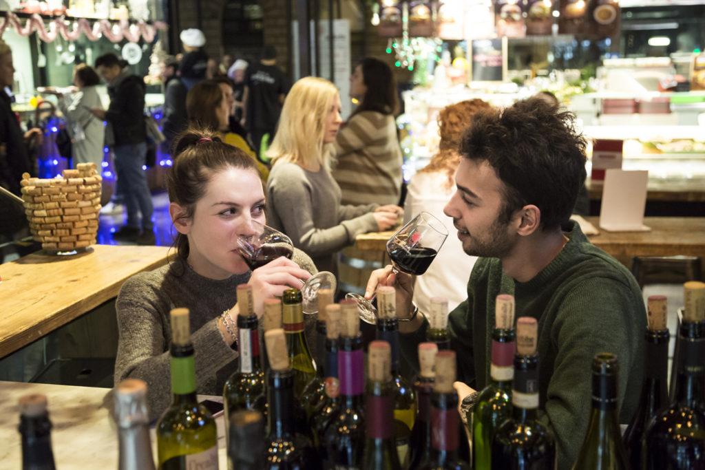 Mercato Centrale Roma | Il vino di LUca Boccoli