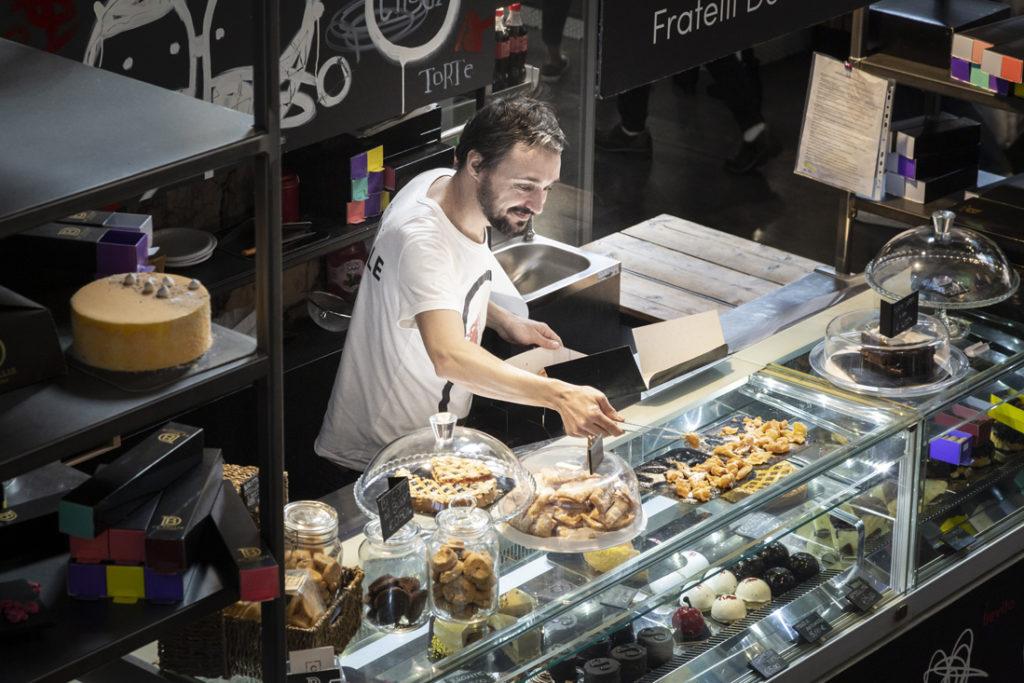 Mercato Centrale Roma | La pasticceria dei fratelli De Bellis