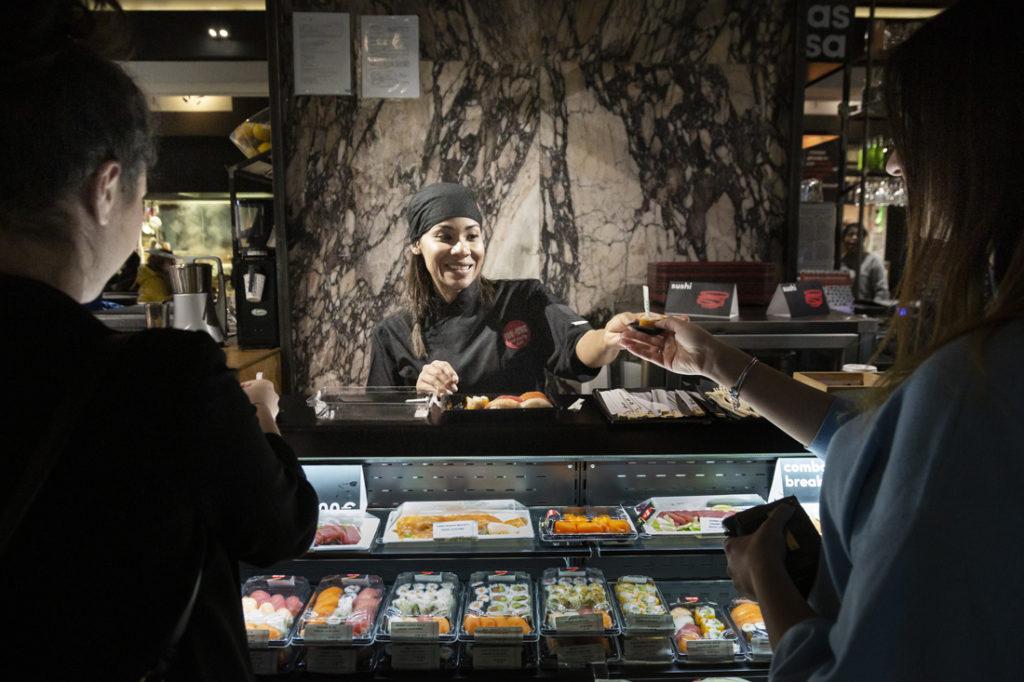Mercato Centrale Roma | Il sushi di Donato Scardi