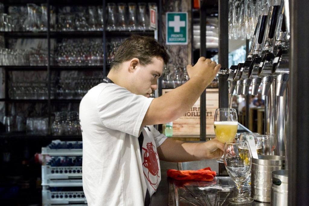 Mercato Centrale Roma | La birreria