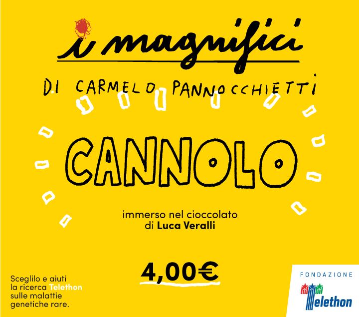 Mercato Centrale Roma | I Magnifici - Cannolo - Fondazione Telethon