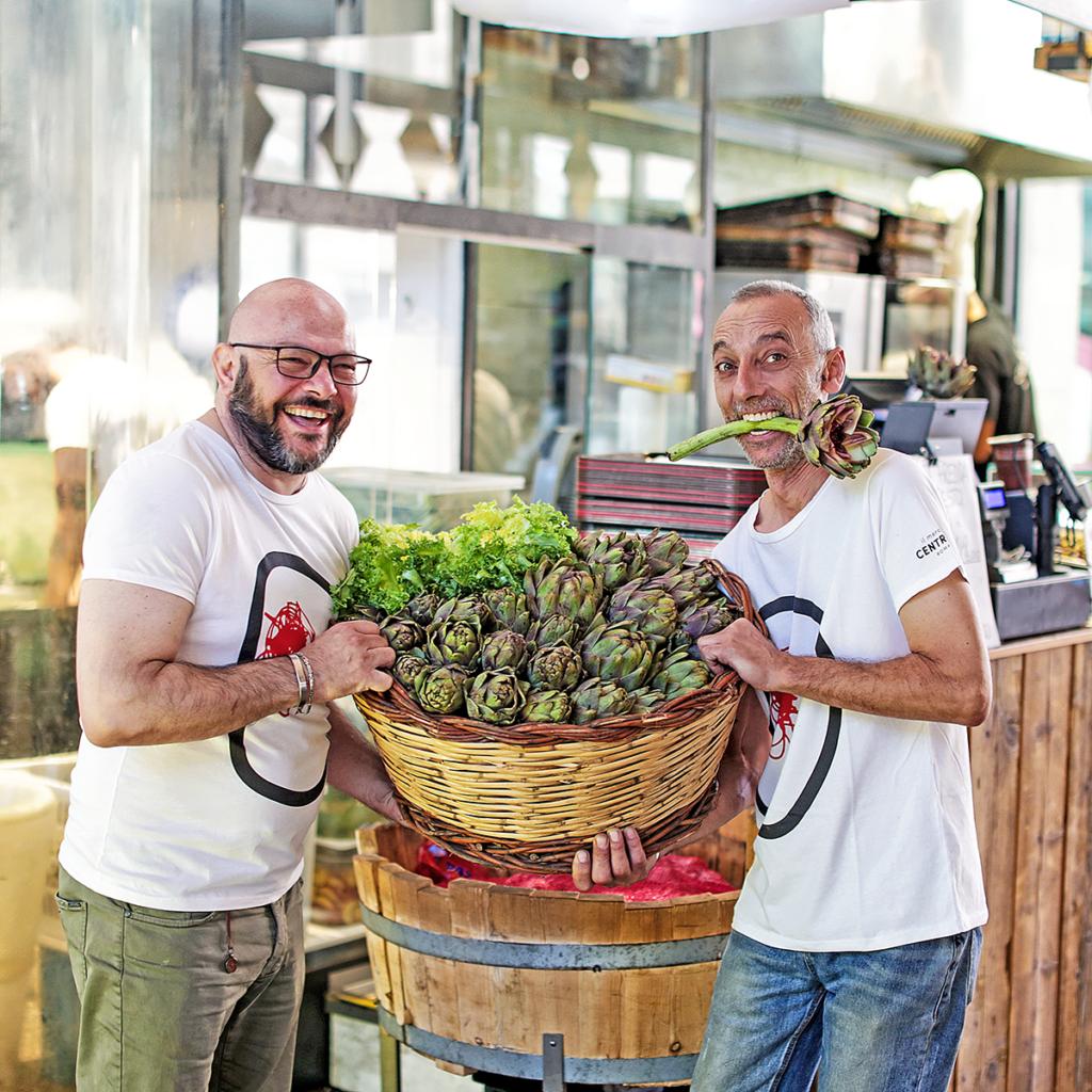 Gabriele La Rocca e Alessandro Conti - ph. Settimio Benedusi
