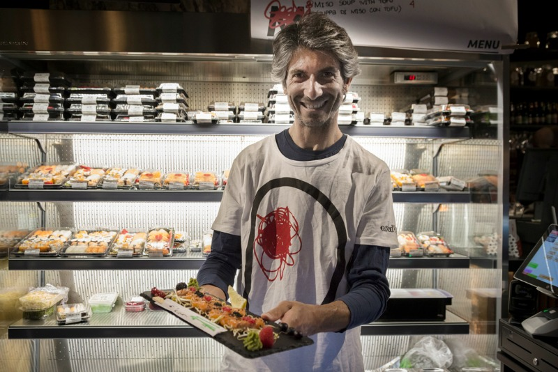 Donato Scardi: the man behind the sushi