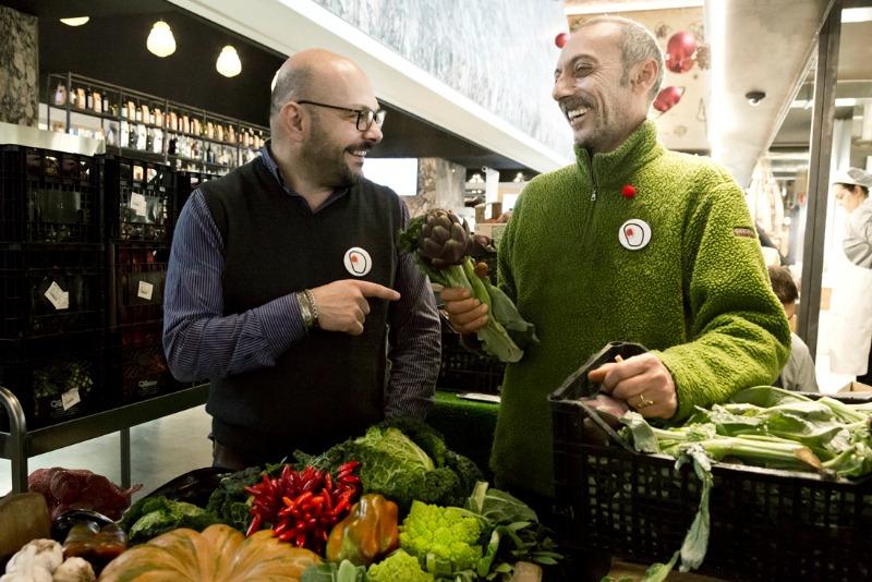 Alessandro Conti e Gabriele La Rocca: lo Yin e lo Yang del Mercato Centrale Roma