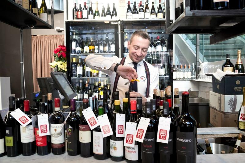 Luca Boccoli, una passione sconfinata per il buon vino