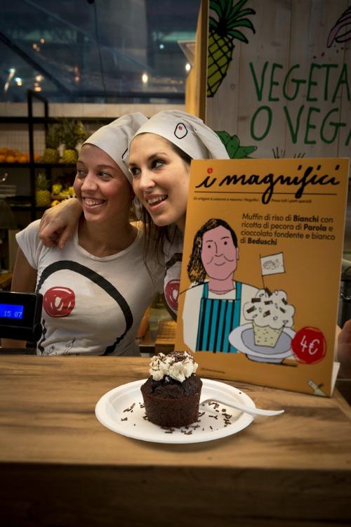 I Magnifici: Muffin di riso di Bianchi