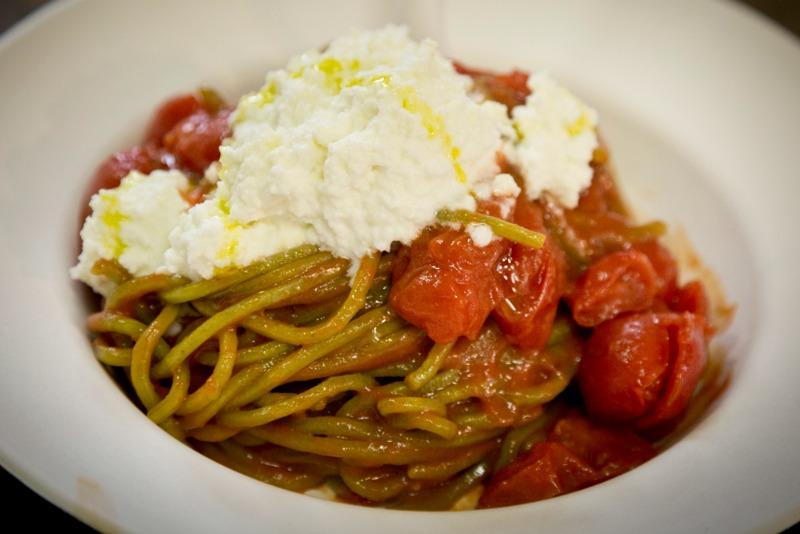 I Magnifici: Spaghetto al basilico di Mendolia