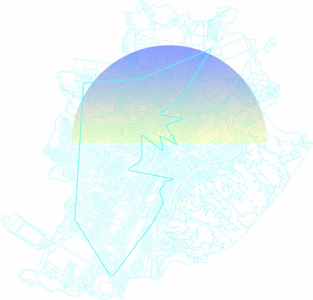PLOTTING THE CENTRAL BODY Corpo Umano Corpo Urbano - Le spinte energetiche della città Una produzione Mercato Centrale Torino, 2019 - Elaborazione Tracciato singolo Elemento