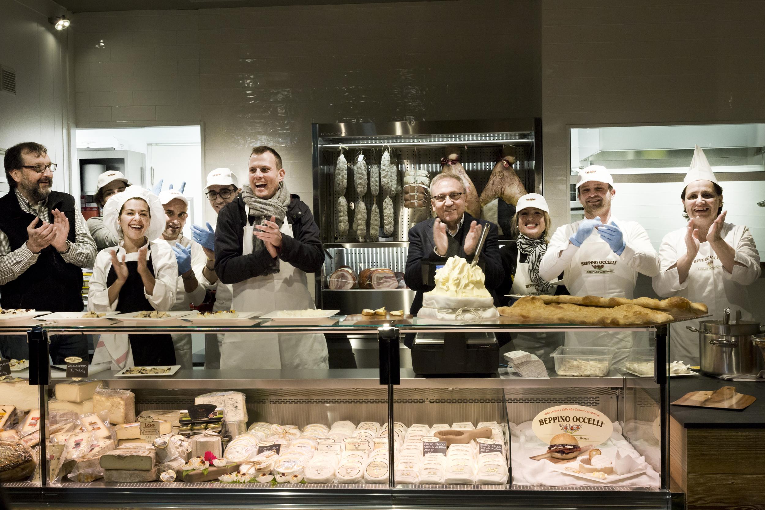 Mercato Centrale Torino | Beppino Occelli - La bottega del burro e dei formaggi - Beppino Occelli