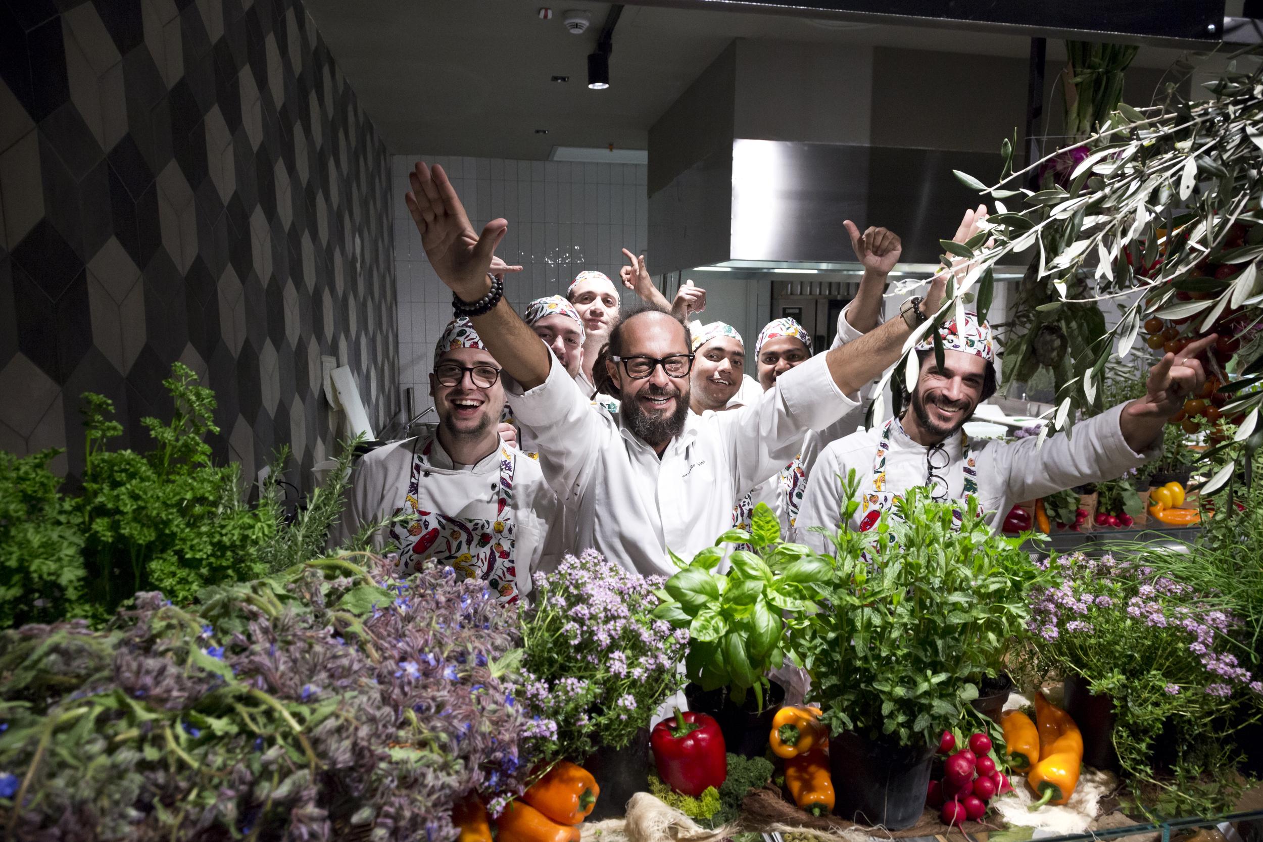Mercato Centrale Torino | Le verdure - La fata verde - Marcello Trentini