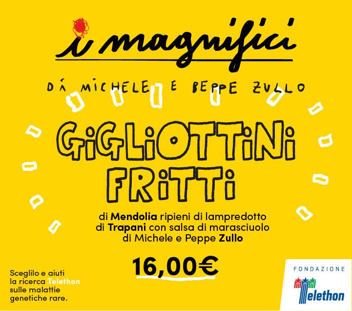 Mercato Centrale Firenze | I Magnifici - Gigliottini Fritti di Michele Zullo