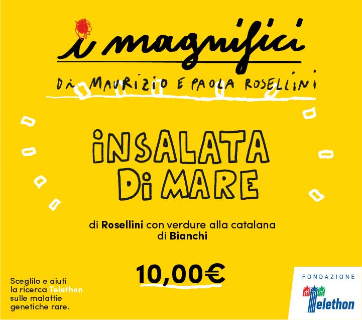 Mercato Centrale Firenze | I Magnifici - Insalata di Mare di Maurizio e Paola Rosellini