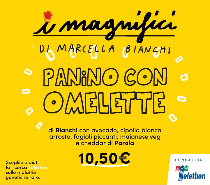 Mercato Centrale Firenze | I Magnifici - Panino con Omelette di Marcella Bianchi