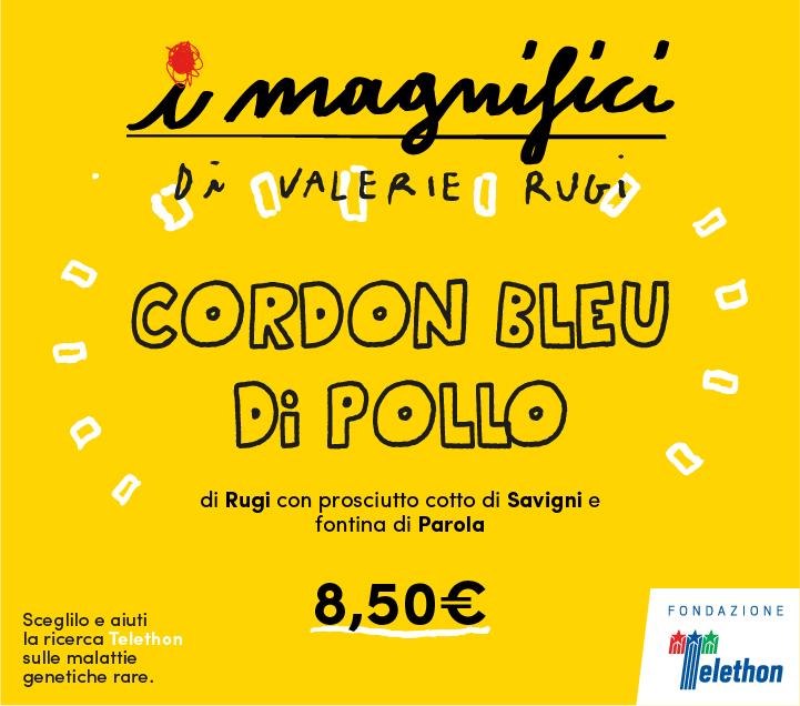 Mercato Centrale Firenze | I Magnifici - Cordon Bleu di Pollo di Valerie Rugi
