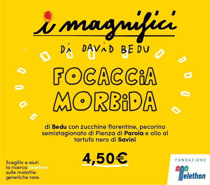 Mercato Centrale Firenze | I Magnifici - Focaccia Morbida di David Bedu