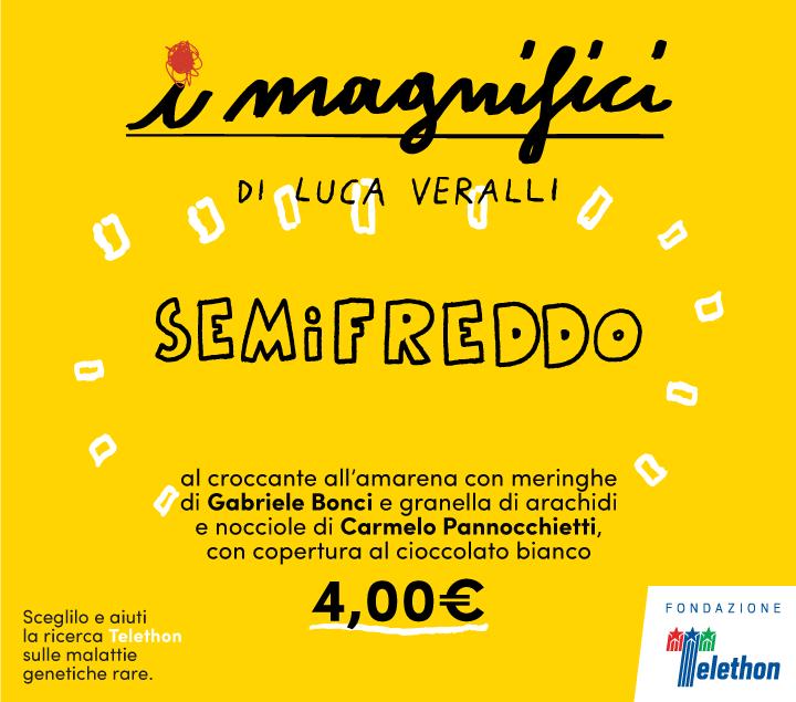 Mercato Centrale Roma | I Magnifici - semifreddo
