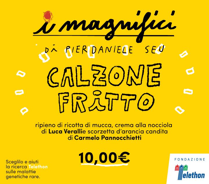 Mercato Centrale Roma | I Magnifici - calzone fritto