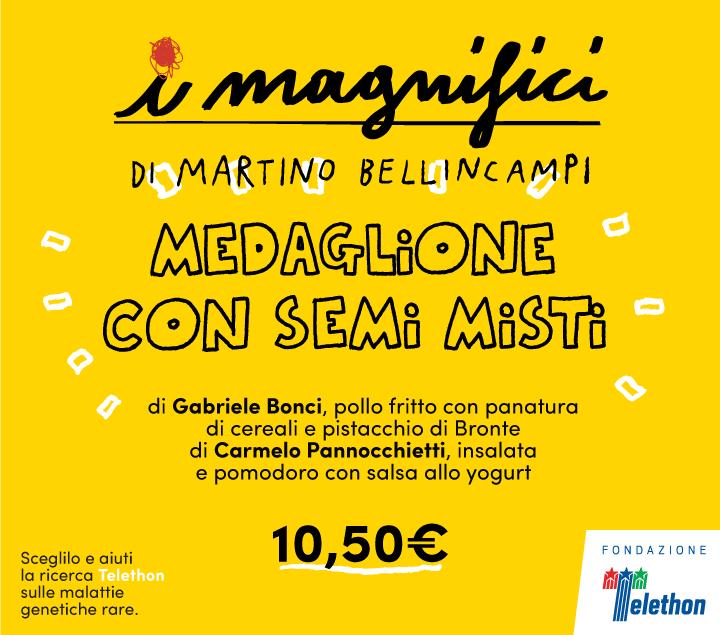Mercato Centrale Roma | I Magnifici - medaglione con semi misti