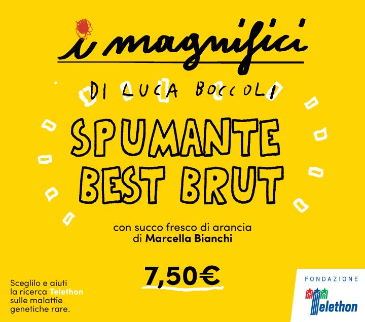 Mercato Centrale Roma | I Magnifici - spumante best brut