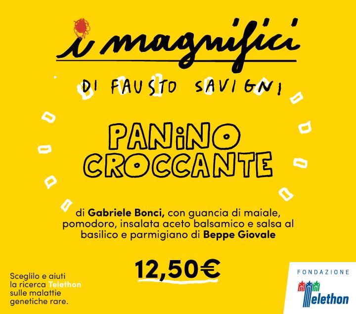 Mercato Centrale Roma | I Magnifici - Panino Croccante