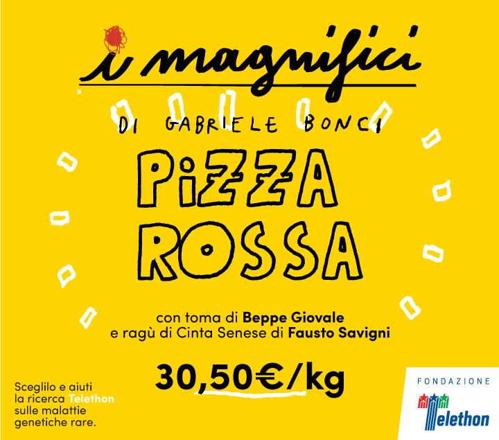 Mercato Centrale Roma | I Magnifici - pizza rossa
