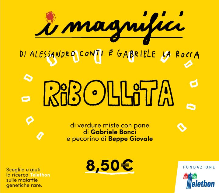 Mercato Centrale Roma | I Magnifici - Conti e La Rocca - Ribollita