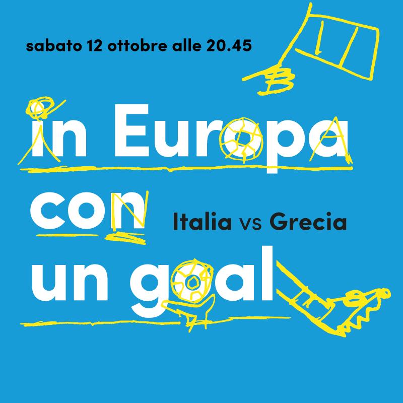 Mercato Centrale Roma | in Europa con un goal - Italia Vs Grecia