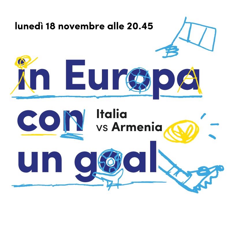 Mercato Centrale Roma | in Europa con un goal - Italia Vs Armenia