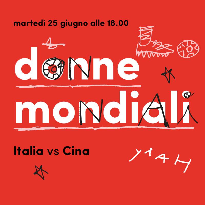 Mercato Centrale Roma | Donne Mondiali - Italia Vs Cina