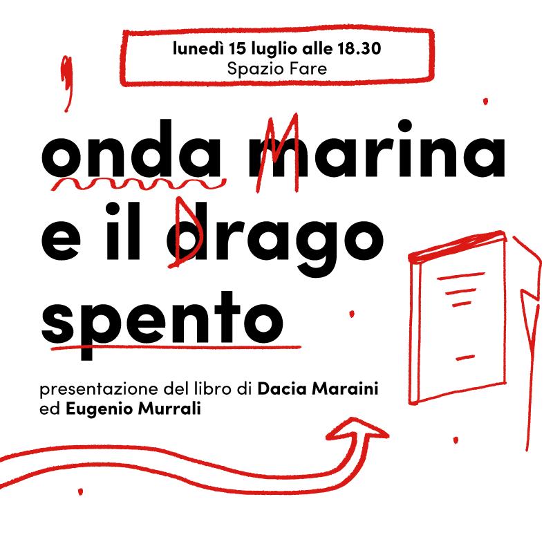 Mercato Centrale Roma | onda marina e il drago spento